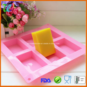 Wholesale 6-Cavity Silicone Soap Mould Mold
