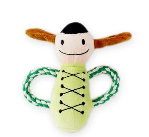 Pet Plush Toy Musicians Doll Dog Rope Toy (KB0031) pictures & photos