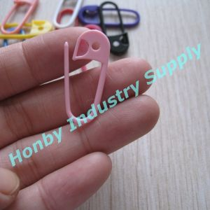 30mm Colorful Plastic Stitch Markers Knitting Pin pictures & photos