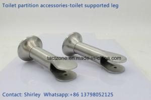 Best Quality Toilet Cubicle Partition Accessories 304 Adjustable Legs pictures & photos