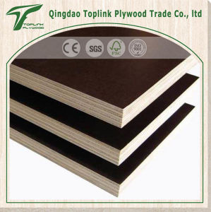 Fob Lianyungang Melamine Brown Film Faced Ply for Construction pictures & photos