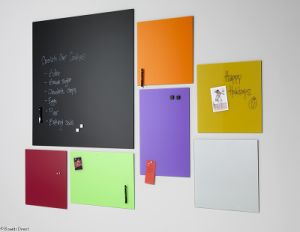 Magnetic Tempered Glass White Board for Writing pictures & photos