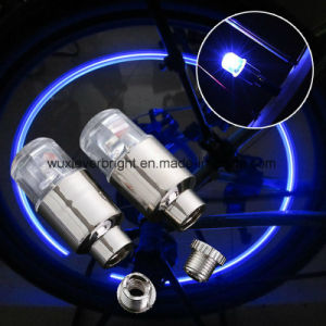 Stable Waterproof Car Valve Cap Wheel Tyre Light