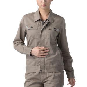 OEM Women Work Clothes Cotton Workwear Jacket Uniform pictures & photos