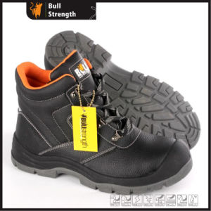 Industrial Leather Safety Shoes with PU/PU Sole (SN5488) pictures & photos