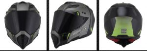 Motocross Helmet with Full Face Shield Visor, Casco Moto, Safety Helmet pictures & photos