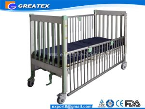 Children Beds for Hospital with Safe Aluminum Alloy Guardrailss pictures & photos