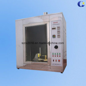UL94 Horizontal Vertical Flame Tester for Lab Test Equipment pictures & photos