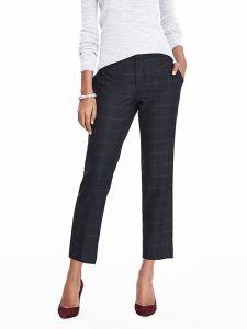Slim Fit Linen Check Summer Designer Suits for Women pictures & photos