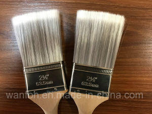 Tapered Solid Filaments Long Handle Angle Paint Brush pictures & photos