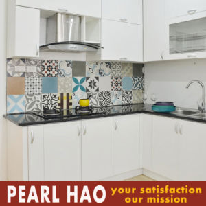 High Quality MFC Melamine Kitchen Cabinet pictures & photos