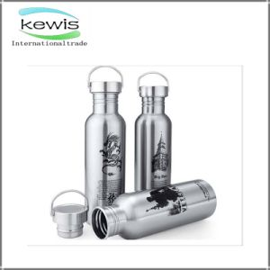 Decorative Cool Stainless Steel Water Bottle with Storage Compartment pictures & photos