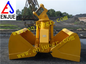 Chinese Hydraulic Excavator Grab Bucket with Clamshell for Sale pictures & photos