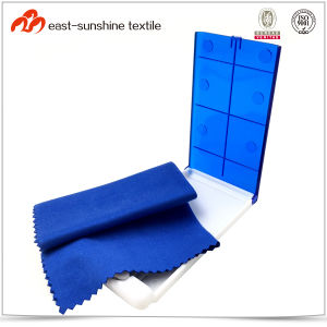 Promotional Microfiber Anti Fog Lens Cleaning Cloth pictures & photos