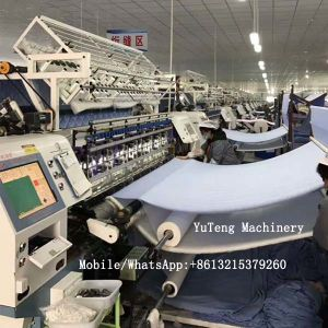 Quilted Cover Production Line Automatic Quilting Machine Ygb96-2-3 pictures & photos