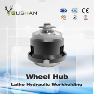 Wheel Hub Lathe Hydraulic Fixture pictures & photos