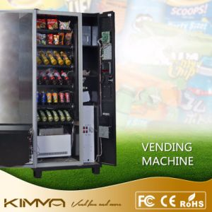 Glass Front Compact Vending Machine Config Nayax Vpos Support Card NFC Digital Pay pictures & photos
