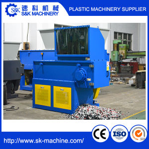 Single Shaft Shredder for Plastic PE PP Pet ABS PC Nylon Lump and Block pictures & photos