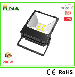200W Outdoor LED Flood Light with Bridegelux LED 5 Years Warranty