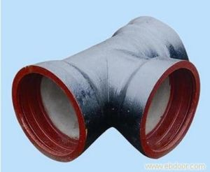 Supply High Quality Nodular Cast Iron Drainage Pipe Parts pictures & photos
