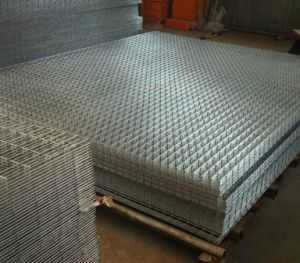 Galvanized Steel Wire Mesh Panels/Welded Wire Mesh Grid Panels/Metal Fence Panels pictures & photos