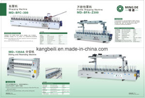 Window Decorative Woodworking Wrapping Machine Distributor pictures & photos