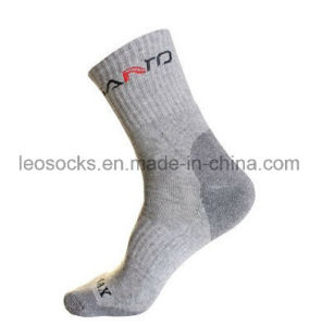 Coolmax Outdoor Hiking Terry Socks pictures & photos