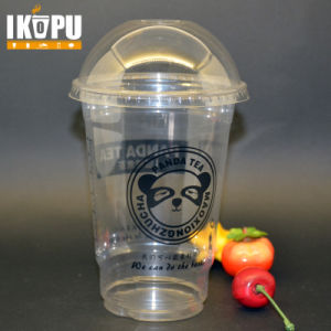 High Quality Disposable 12oz Clear Pet Cold Drink Plastic Cups with Dome Lid pictures & photos