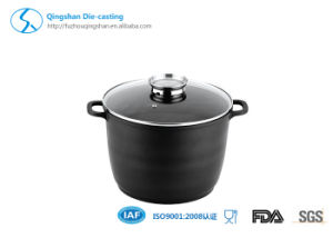 Popular Die Cast Aluminum 24cm Energy Saving Soup Pot pictures & photos