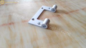 Deep Processing Aluminium Hinge for Door with Powder Coated White pictures & photos