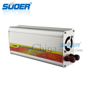 Suoer 12V to 220V 2000W off Grid Solar Inverter with Anti-Reverse Protection (SUA-2000AF) pictures & photos