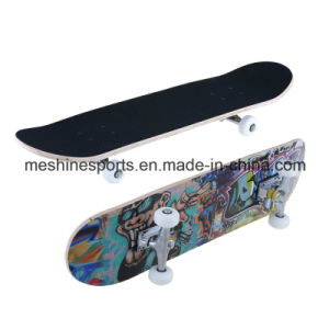 Cheap and Good Quality Anti-Slip Wood Skateboard Deck Manufacturer in China pictures & photos