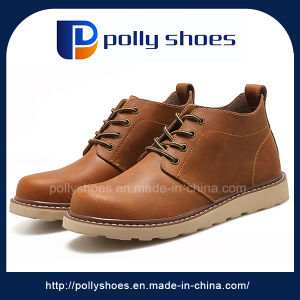 2017 Winter Casual Leather Shoes Cheap Wholesale pictures & photos