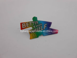 Offset Printing Badge, Organizational Lapel Pin (GZHY-LP-028) pictures & photos