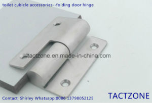Best Sell Toilet Partition Cubicle Accessories 304 Steel Door Hinge pictures & photos