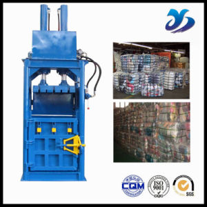 Hydraulic Driven Recycling Vertical Baler Equipment /Wool Baling Press Machine/Vertical Waste Paper Plastic Film Baler pictures & photos