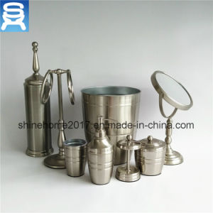 Imitated Chrome Finish Ceramic Bathroom Set/Bathroom Accessories/Bathroom Accessory pictures & photos