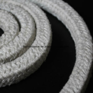 Heat Insulation Materials Ceramic Fiber Rope with Fiberglass Stainless Reinforced pictures & photos