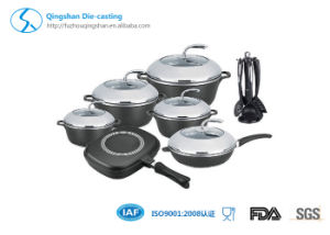 23PCS Die-Cast Aluminum Cookware Set pictures & photos
