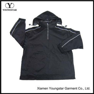 Wholesale Men ′s Fashion Athletic Jacket with Nylon Taslon pictures & photos