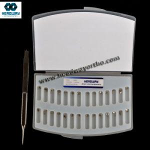 China Damonq Orthodontic Bracket, MIM Bondable Self-Ligating Roth Bracket pictures & photos