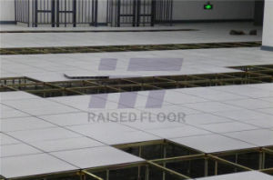 Anti-Static HPL Access Floor with Integral Edge Trim (45 degree beveled edge) pictures & photos