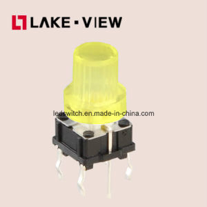 Small Size Bi-Color LED Illuminated Tact Switch pictures & photos