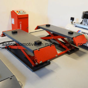 Low Rise Scissor Car Lift pictures & photos