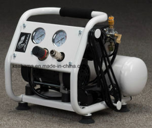 Tat-0204hn Hand Carry Oil Free Silent Air Compressor (0.37HP 4L) pictures & photos