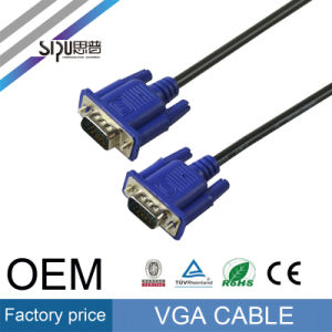 Sipu High Speed VGA Cable Male to Male Computer Cables pictures & photos