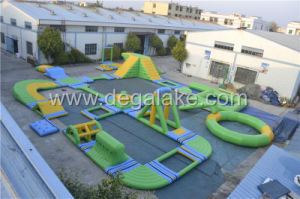 Aqua Floating Inflatable Water Park Giant Inflatable Water Game