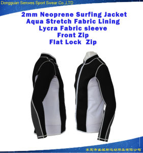 2.5mm Men Multi-Sport Lycra Sleeve Super Stretch Surfing Jacket