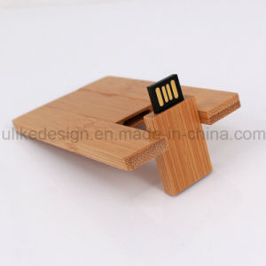 Wooden Card Promotion USB Flash Drive (UL-W022-3) 3.0 pictures & photos