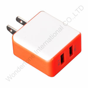 2 Dual Ports Wall Charger for Smart Phones pictures & photos
